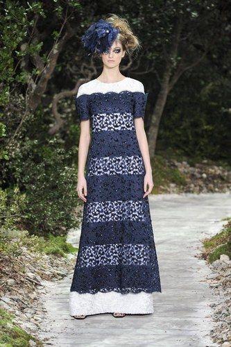 Chanel - París Alta Costura Primavera Verano 2013