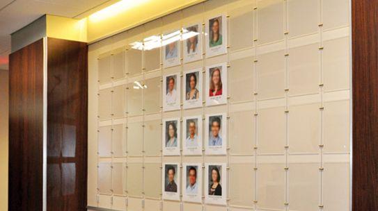 Elegant Office Walls