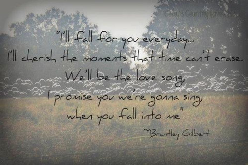 Lyric fall into me lyrics : Pin by Ashley Fern on Quotes | Pinterest