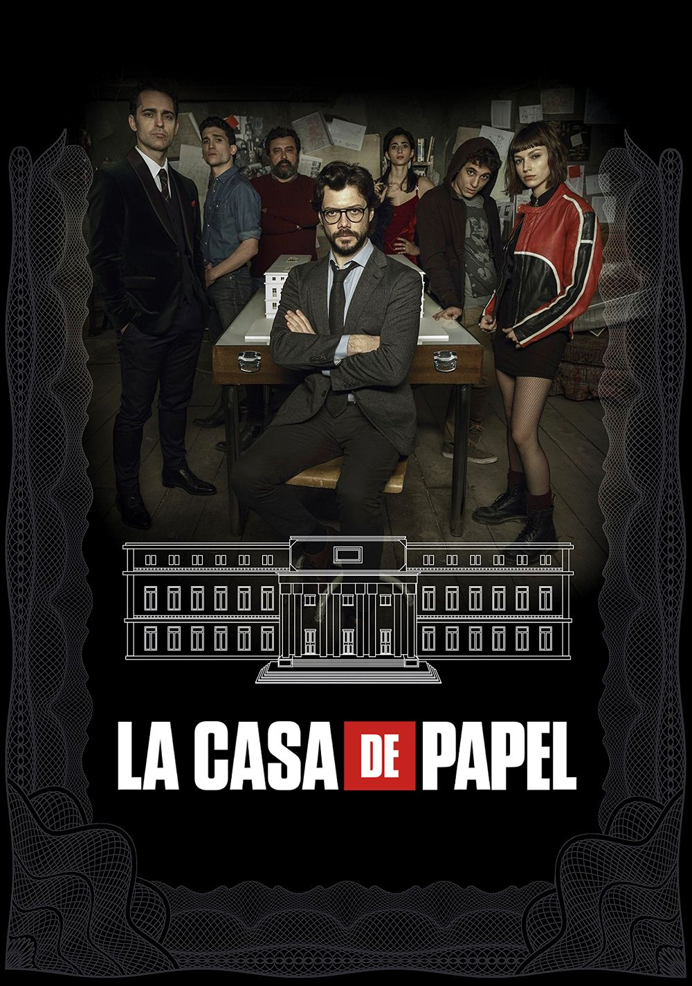 La Casa De Papel The Money Heist Netflix April 6 2018 Season 2