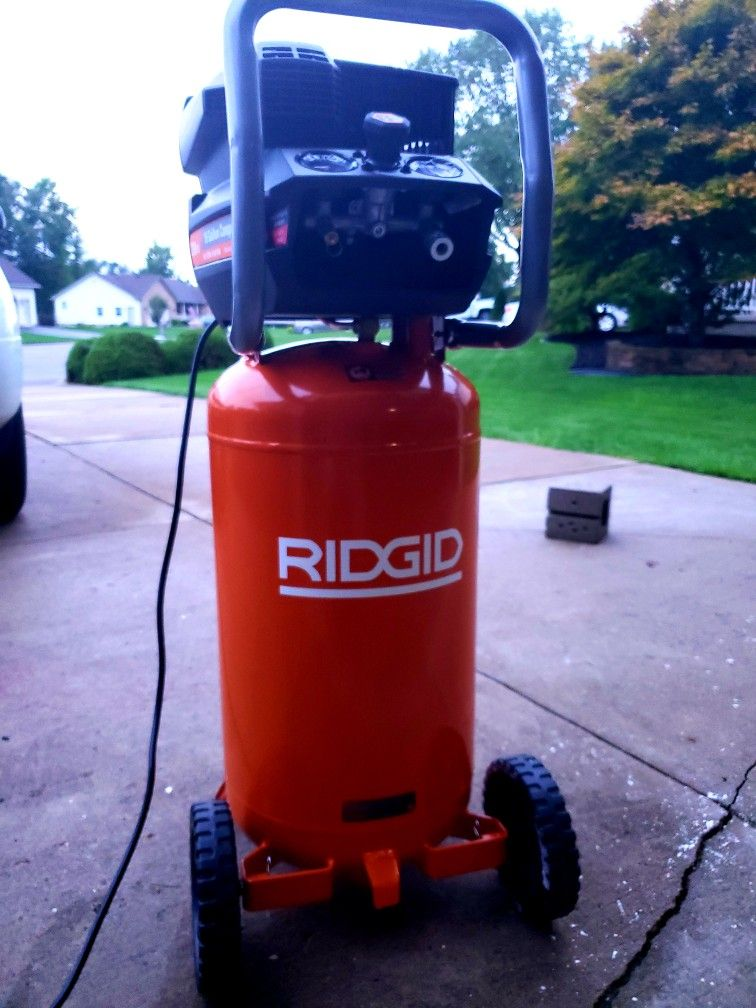 Ridgid releases their all new 15 gallon 200psi air