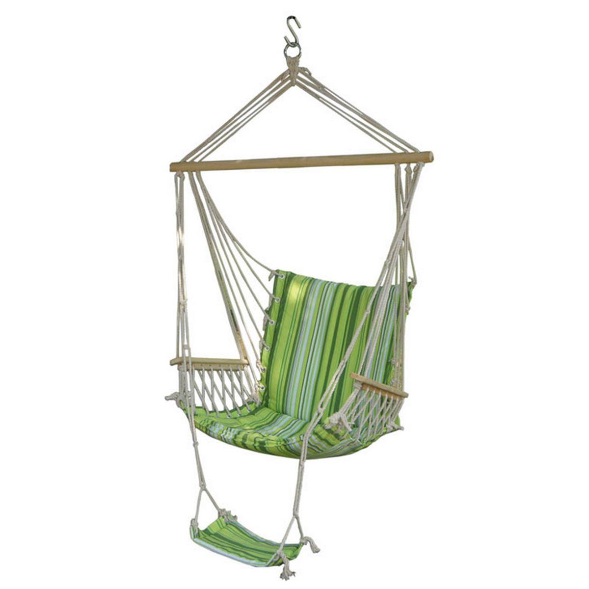 Ipreeâue outdoor canvas swing hammock leisure hanging chair garden