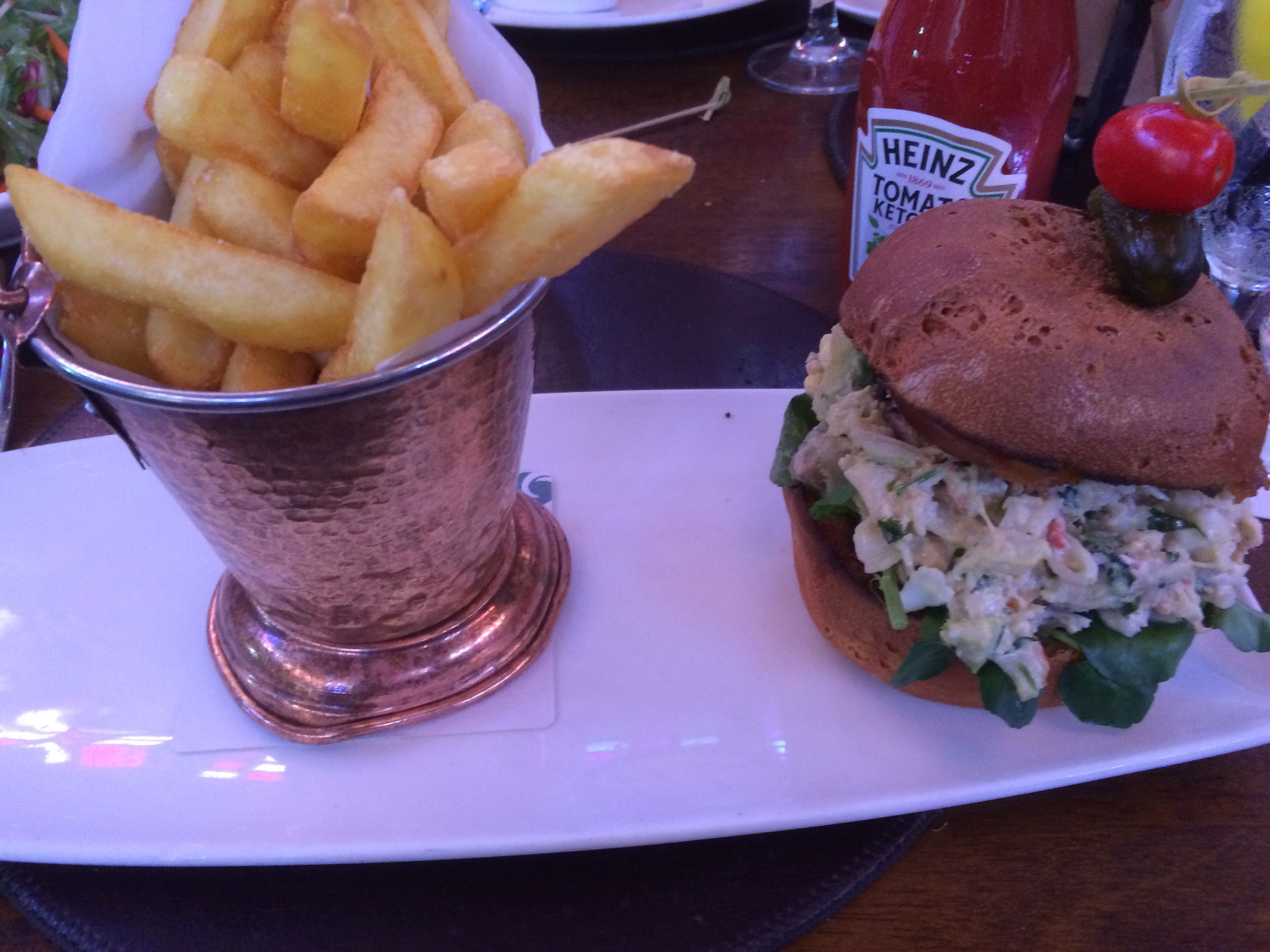Lobster Club Sandwich at Raglan Road