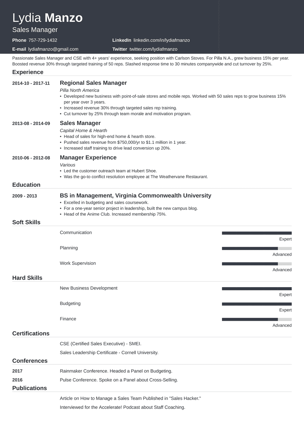 Manager Resume Template Influx Resume Skills Teacher Resume Examples Resume Examples