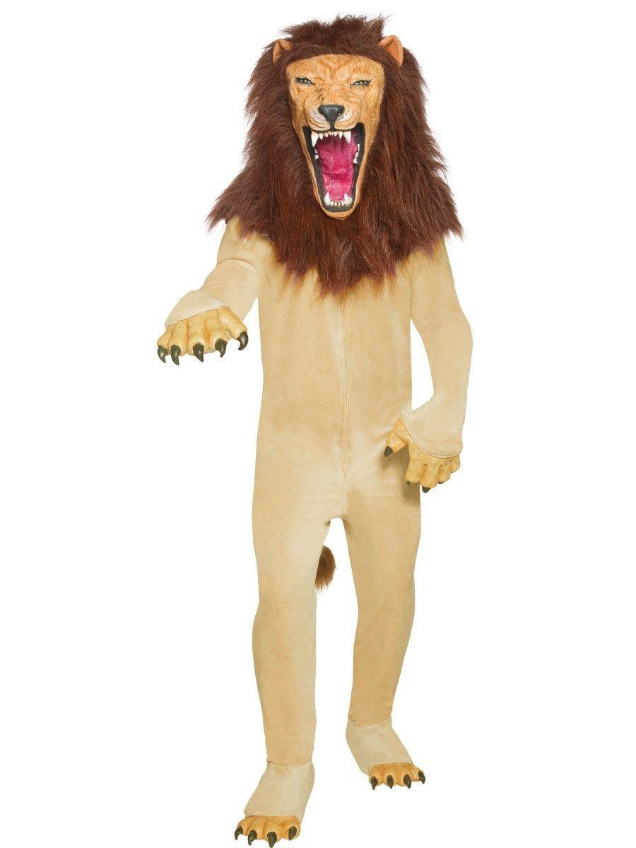 Men's Cirque Sinister Vicious Circus Lion Costume | Circus ...