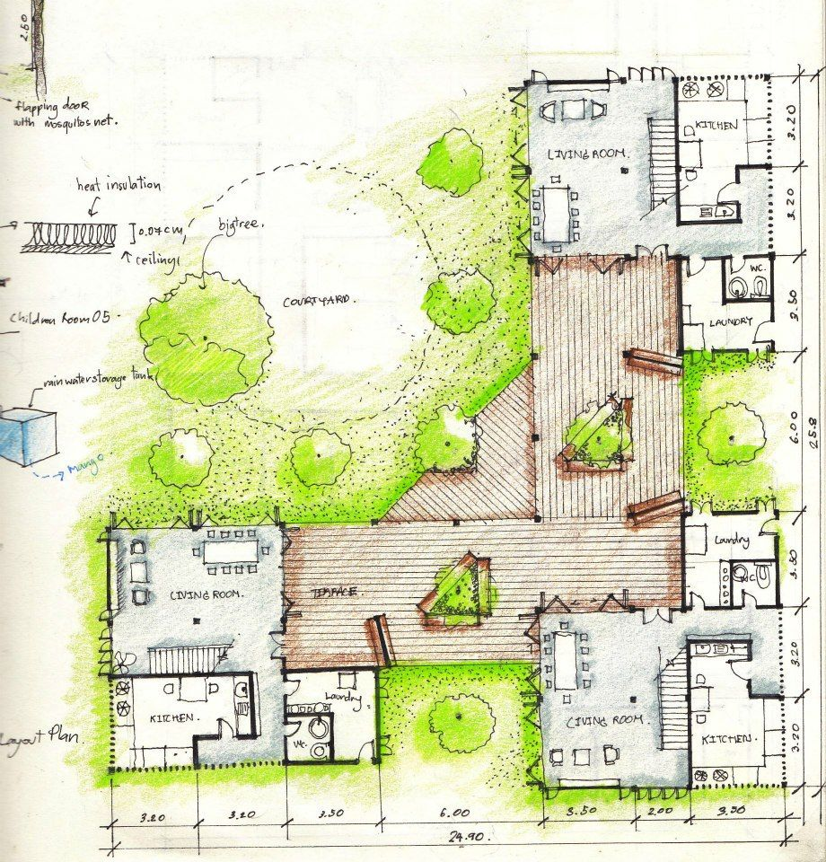 Architectural Drawings By Agora Architects Arch Drawing