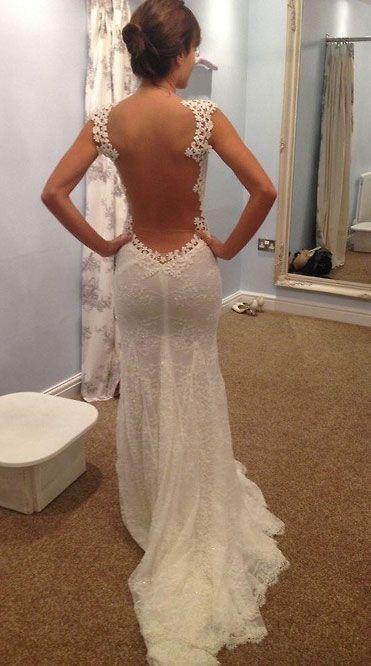 vestidos de novia con escotes en la espalda | wedding!!! | pinterest
