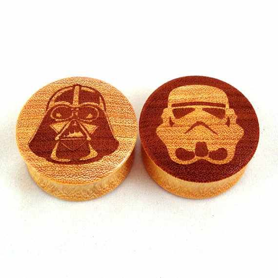 Wooden Plugs, Wedding Plugs, Plugs Earrings