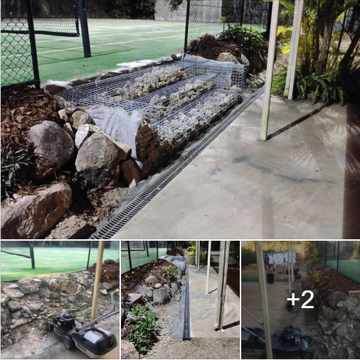 Rogers Little Loaders Earthmoving Diy Wet Dry Mini Digger Hire Turfing Retaining Wall Fencing Builder Construction Landscape Brisbane Concrete Steps Building A Fence Retaining Wall