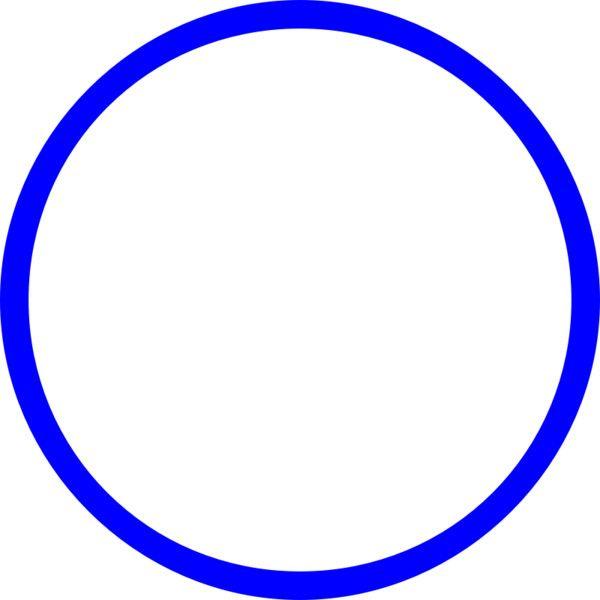 Blue Circle Circle Logo Design Circle Abstract Graphic Design