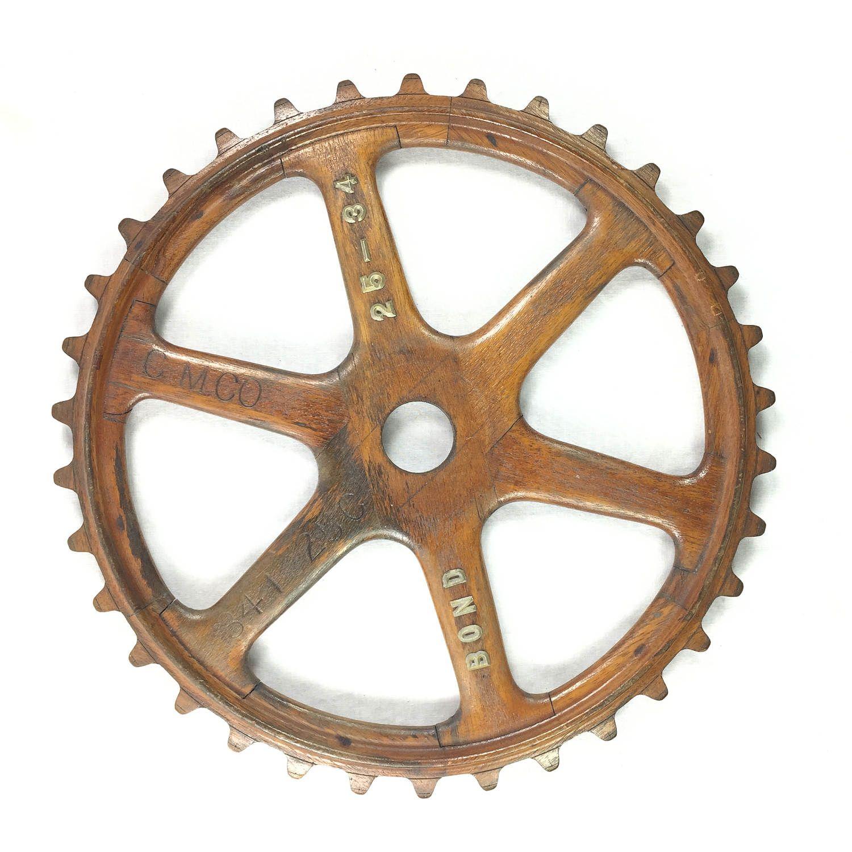 Cog Gear Sprocket Wooden Foundry Mold Bond 25 34 By Gentryantiques On Etsy Vintage Industrial Metal Art Metal