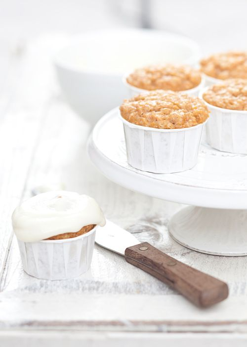Maple Carrot Cakes