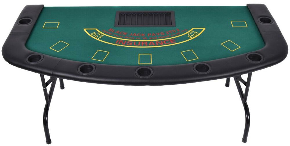 7 Players Texas Holdem Foldable Poker Table Ebay Poker Table For Sale Poker Table Game Room