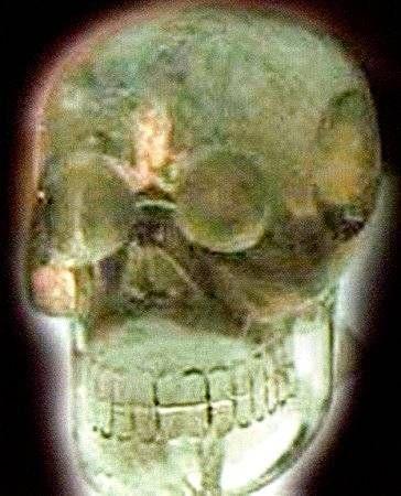 Il \\teschio maya\\. Venne scoperto in Guatemala nel 1912.