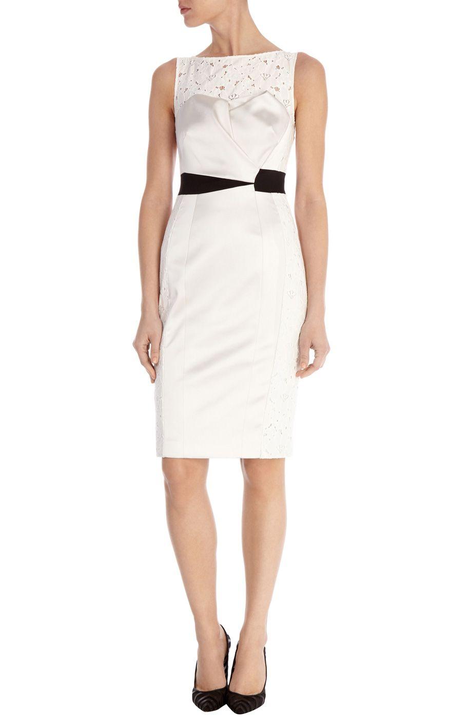 Tuxedo shift dress | Luxury Women\'s OccasionWear | Karen Millen my ...