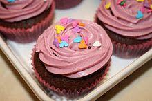 Lyserød Lørdag-cupcakes