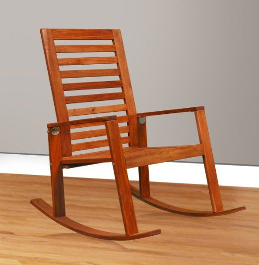 Indoor Rocking Chair Lime Wash Chiavari Chairs Contemporary Acacia Wood Outdoor Designing