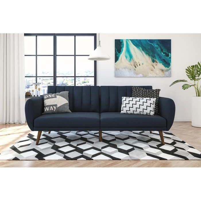 Novogratz Brittany Full Convertible Sofa Furniture Futon Sofa Living Room Furniture
