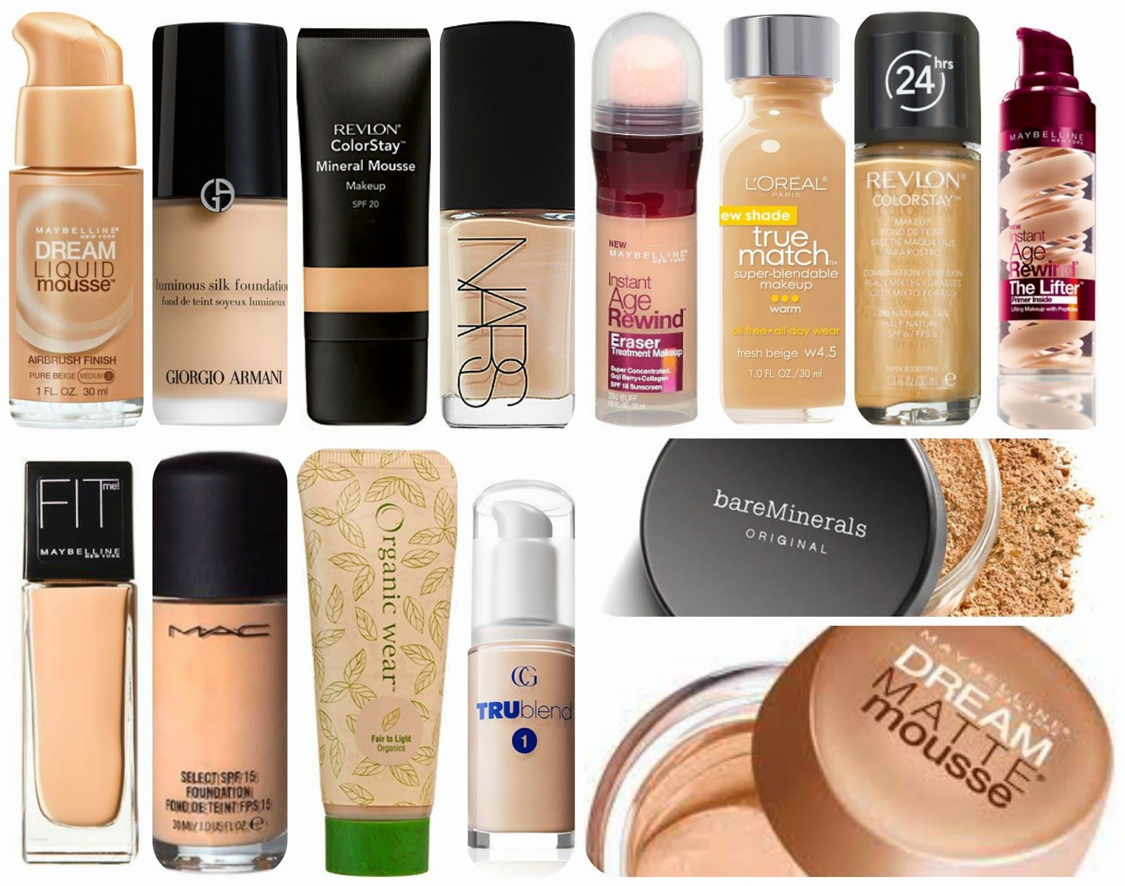 The Flawless & Flawed Foundations | Review (requested ...