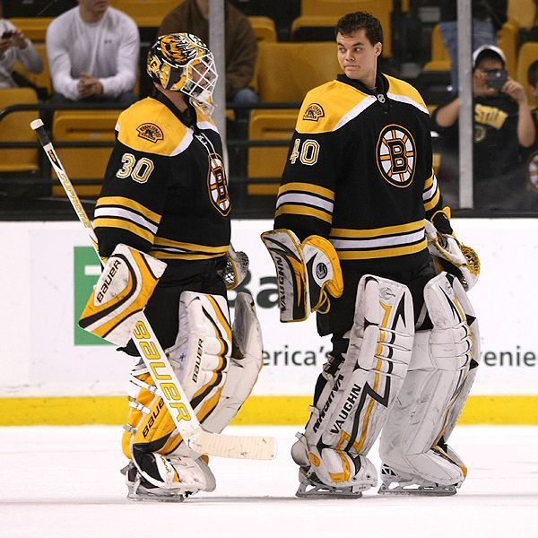 Image result for tim thomas tuukka rask 2010