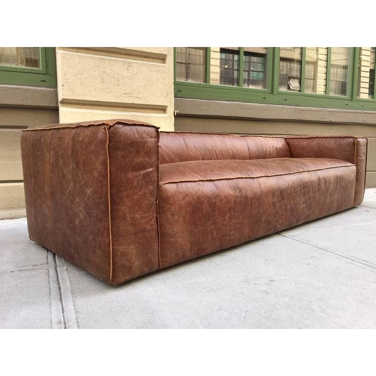 Wondrous Two 9 Ft Contemporary Distressed Leather Sofas In 2019 Spiritservingveterans Wood Chair Design Ideas Spiritservingveteransorg