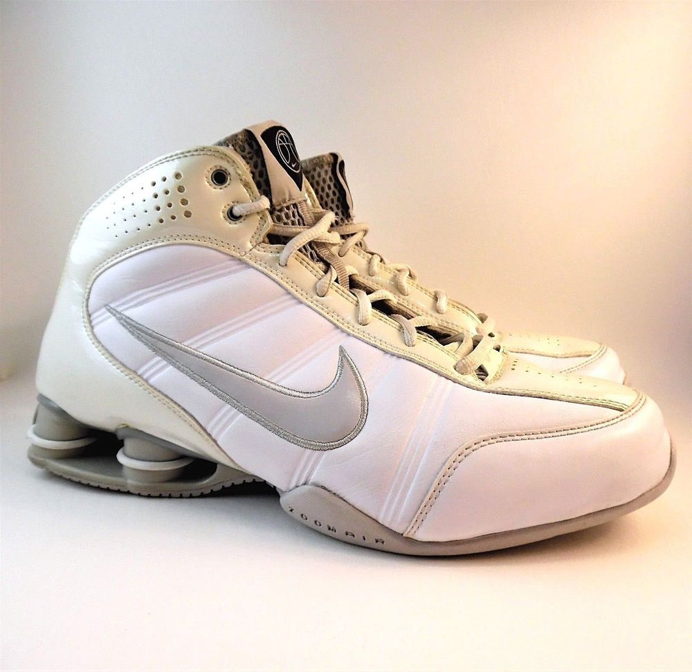 040749d970d2 ... free shipping nike shox dream basketball cream iridescent patent  leather white leather us 9.5 nike basketballshoes