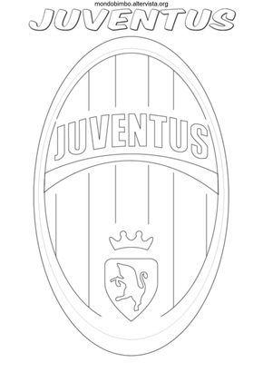 Disegno Logo Squadra Calcio Juventus Colorare Mernusch Rezepte