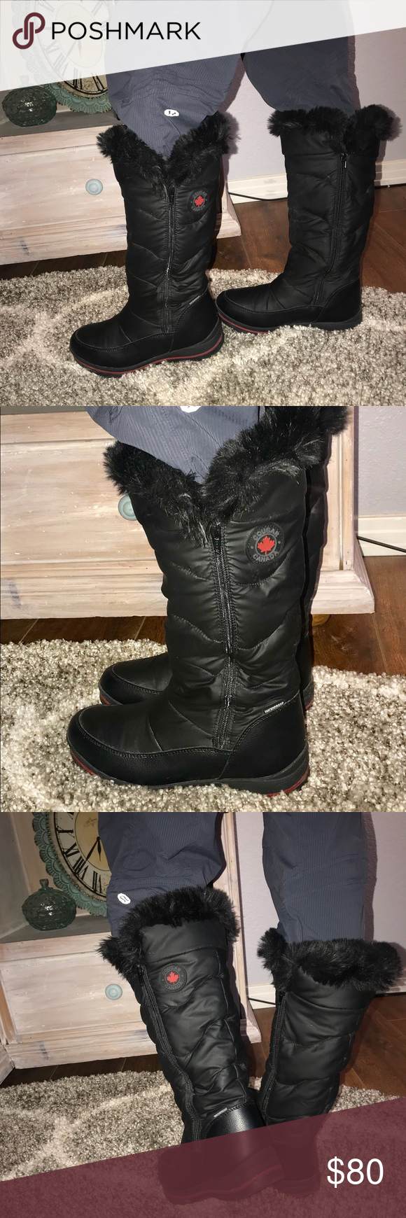 d24777bf846d2 Cougar Canada Bistro Tall Winter Snow Boots 9 Cougar Canada Tall Snow Boots  Woman's 9 Gently worn a handful of times Cougar Canada Shoes Winter & Rain  Boots