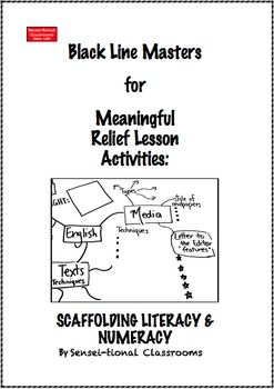Printable blms for meaningful relief lesson activities printable blms for meaningful relief lesson activities scaffolding literacy numeracy all teachers are sciox Gallery