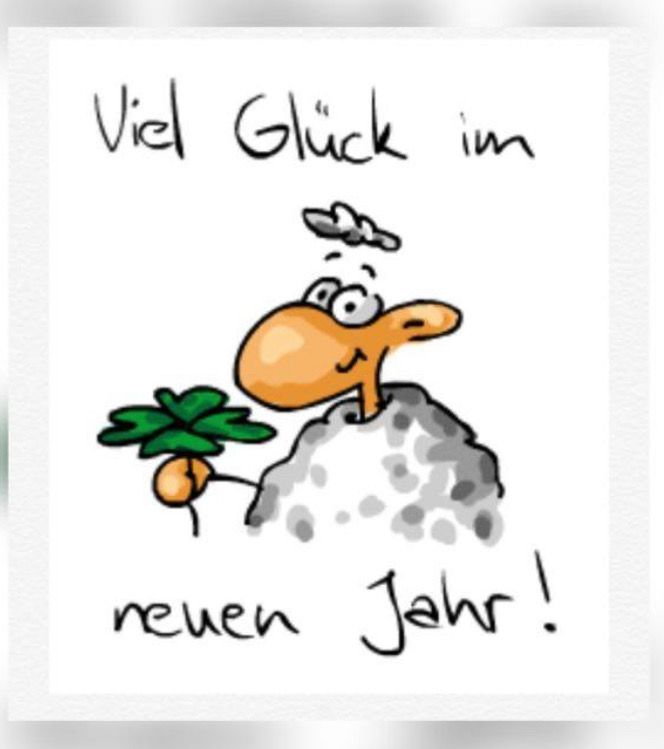 Pin von Bettina Köck auf Neujahr | Frohes neues jahr ...