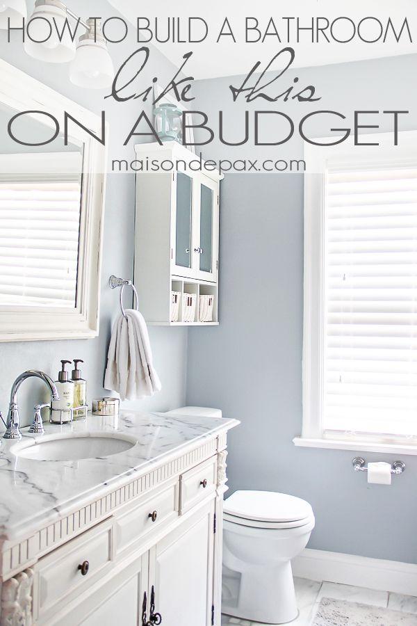 Bathroom Renovations Budget Tips Master bath remodel, Bath remodel