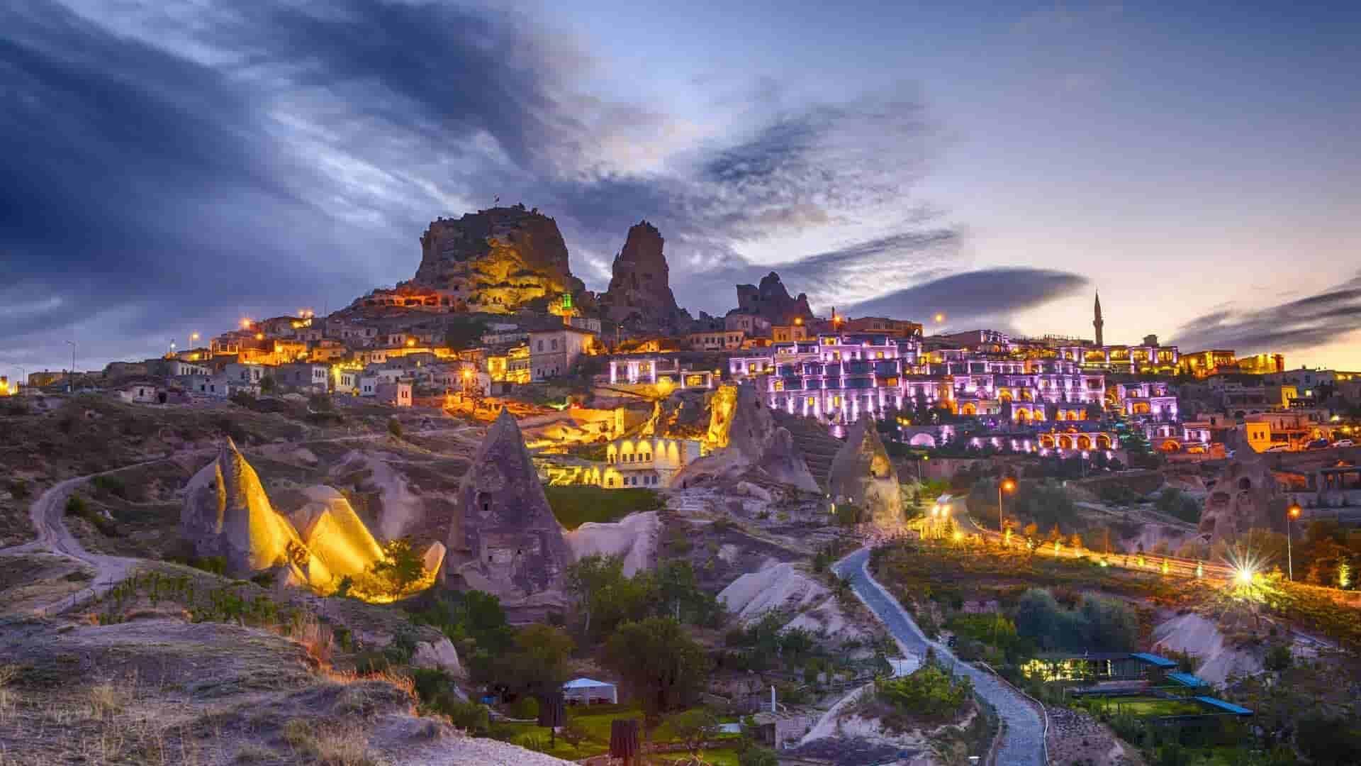 رحلة شمال كابادوكيا اليومية ريد تور Red Tour راني ترافل Kapadokya