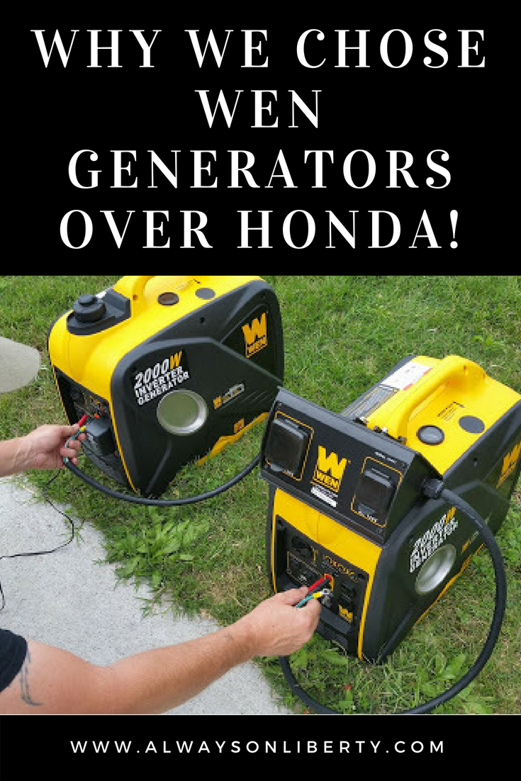 WEN 56200i 2000 Watt Generator Product Review 2000