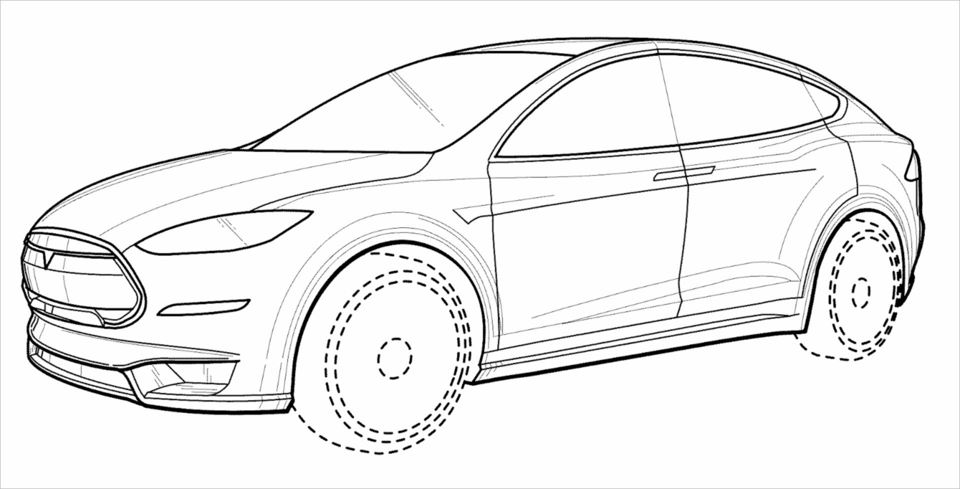 Please Welcome The Most Beautiful Electric Car In The World Jaguar E Type Concept Zero Tesla Model X Cars Coloring Pages Tesla