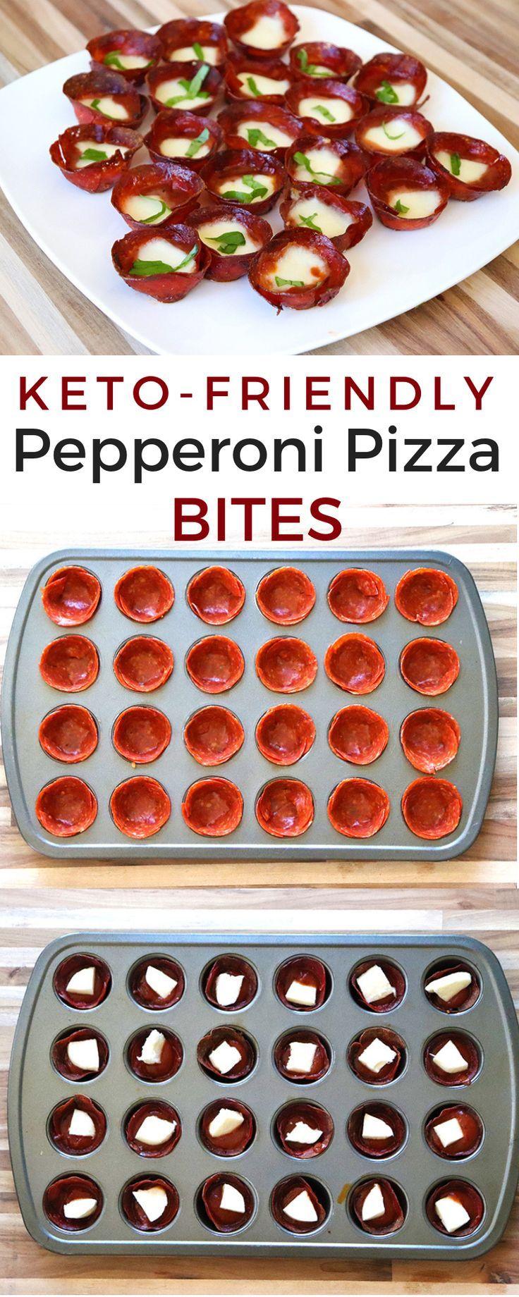 Photo of Keto Pepperoni Pizza Bites 0 Net Carbs