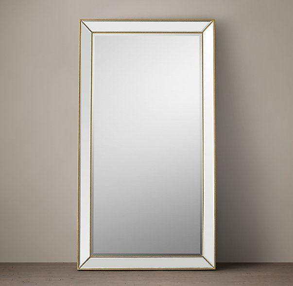 Venetian Beaded Leaner Mirror 20W X 3D 80H