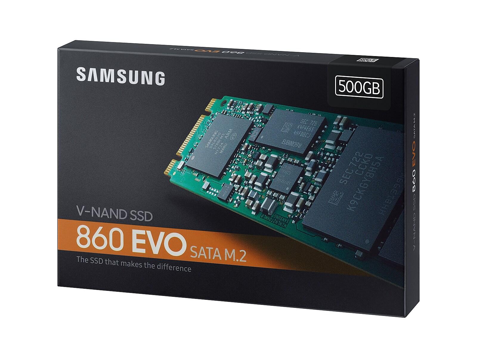 Samsung 860 Evo Sata M 2 Ssd 500gb Evo Samsung Memory Storage