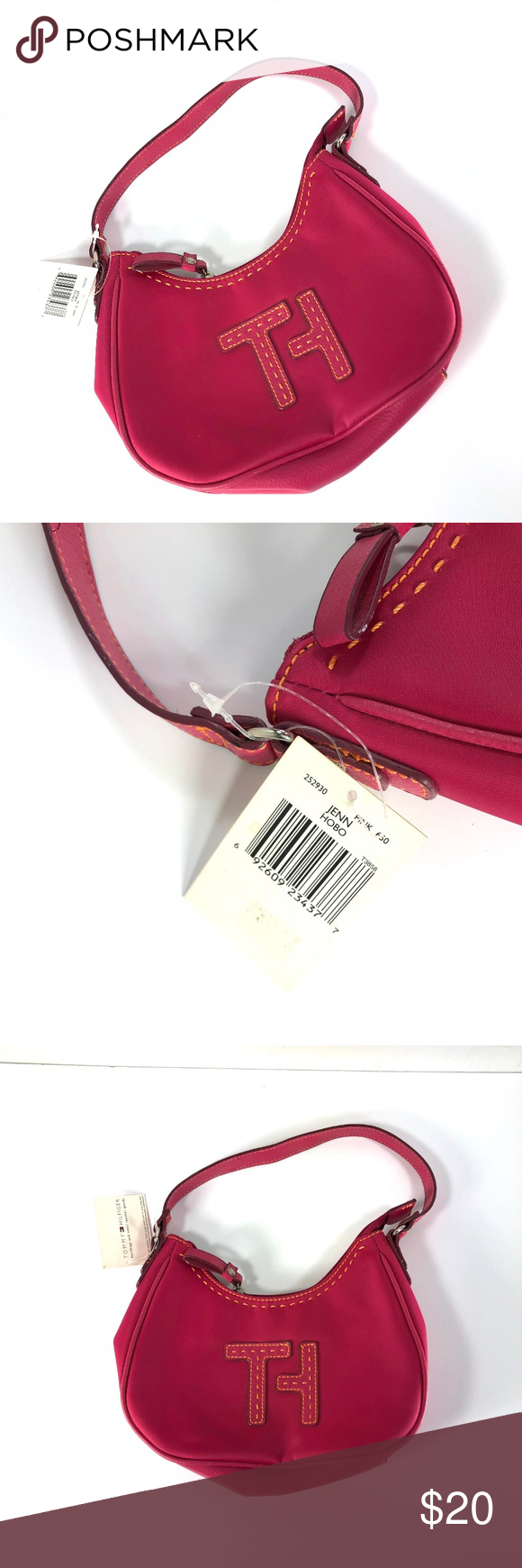Tommy Hilfiger Girls Pink Mini Hobo Purse Pre Loved But Still New With Tags Tommy Hilfiger Girls Jenn Tommy Hilfiger Girl Hobo Purse Tommy Hilfiger