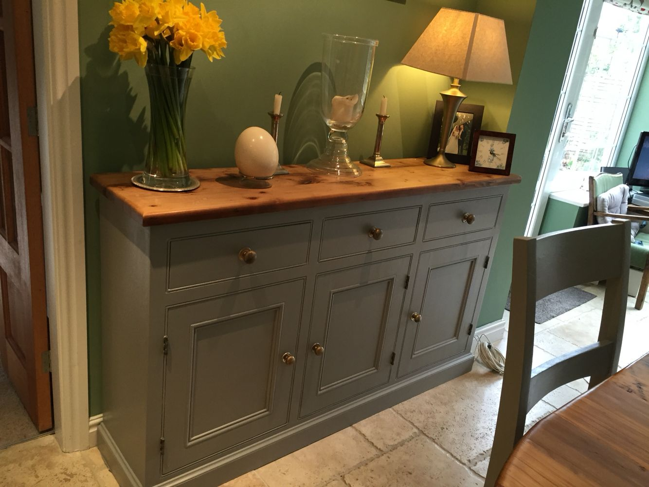 Kitchen sideboard kitchen sideboard 470 alison capeling for Farrow and ball bordeaux