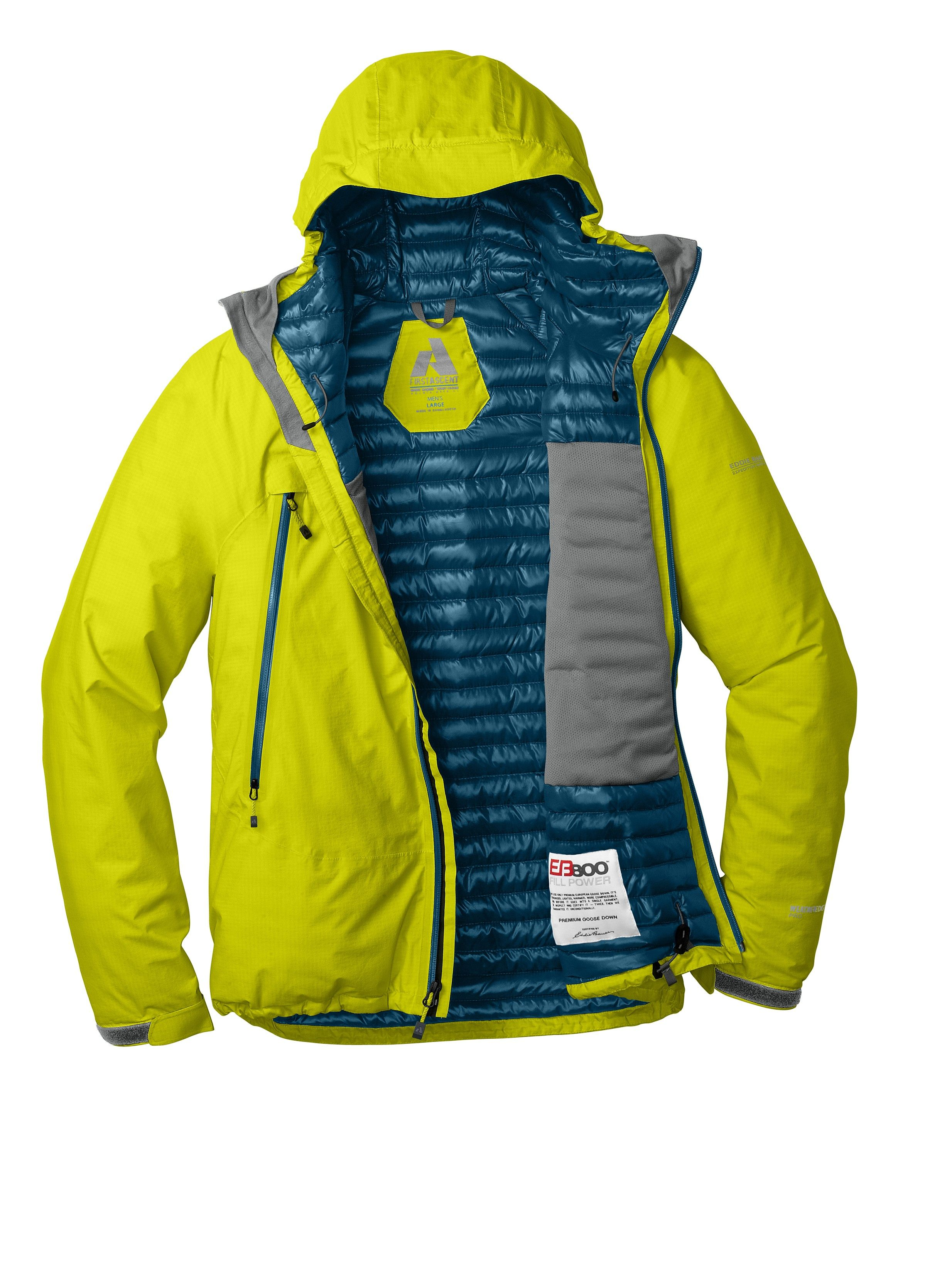 BC MicroTherm™ Down Jacket First Ascent Eddie Bauer