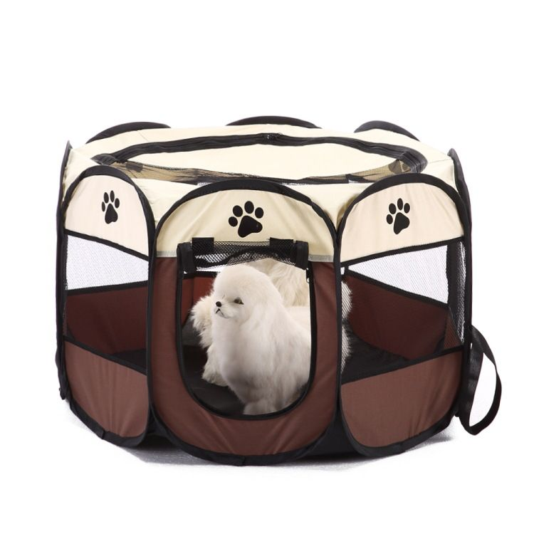 Portable Pet Cat Dog Cage Tent Bed Playpen Foldable Outdoor C&ing Pet Dog Tent House  sc 1 st  Pinterest & Portable Pet Cat Dog Cage Tent Bed Playpen Foldable Outdoor ...