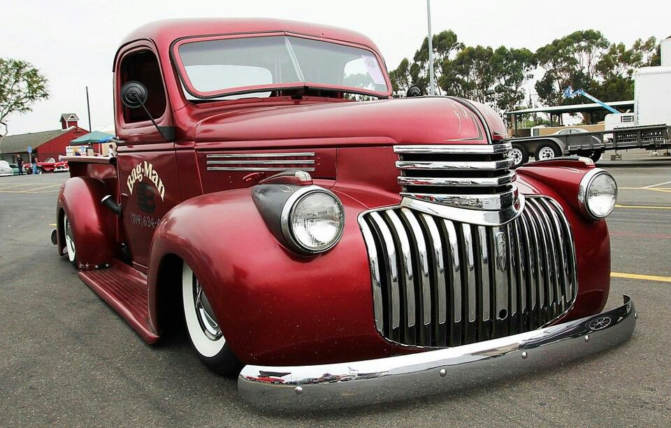 46 Chevy Pickup | Autos Post