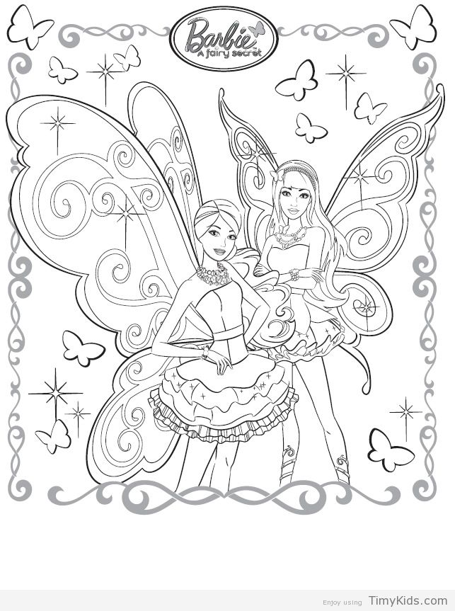 http://timykids.com/30-barbie-coloring-pages-for-kids.html #30 ...