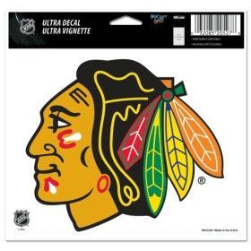 """Chicago Blackhawks 5""""x6"""" Color Ultra Decal"""