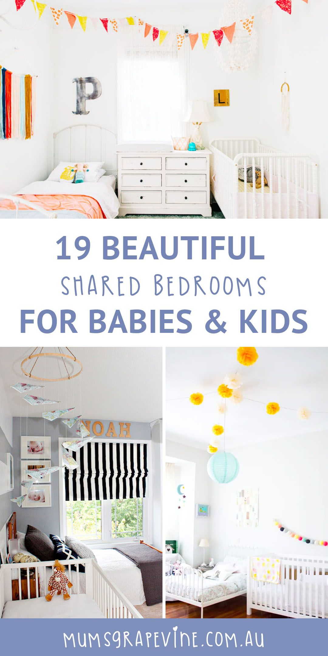 19 beautiful shared bedrooms for babies and kids From nautical boys rooms to safari style nurseries we look at organising kids rooms and turning them into beautiful shared bedrooms  sharedbedrooms n is part of Kids rooms shared -