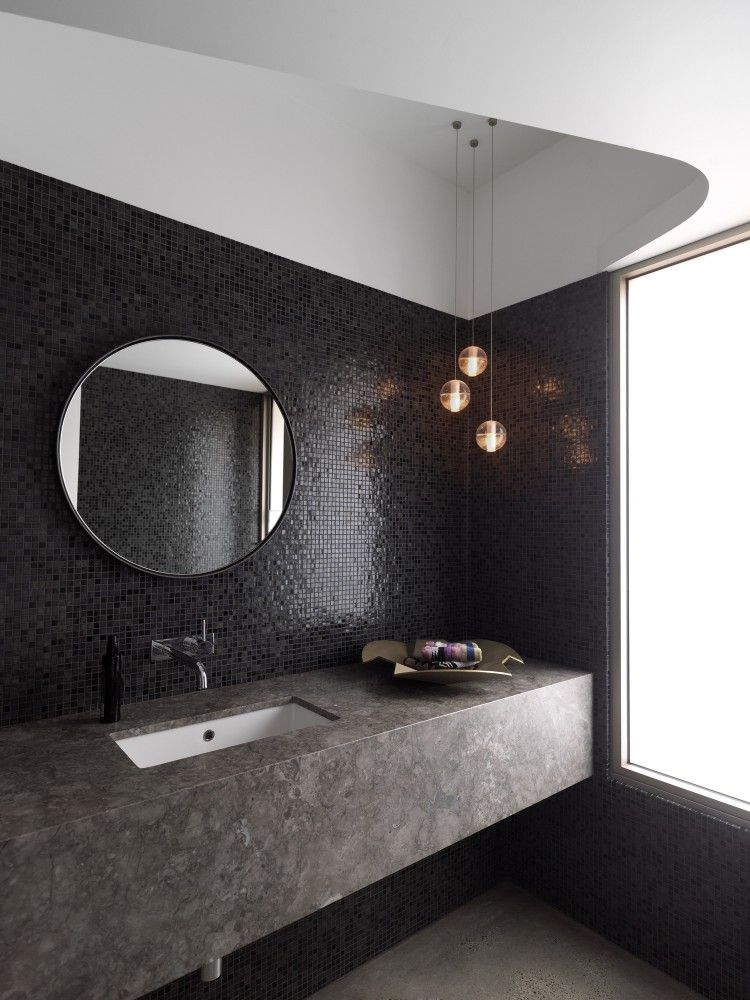 Photographic Gallery Gallery of Balcony Over Bronte Luigi Rosselli Architects Black BathroomsModern