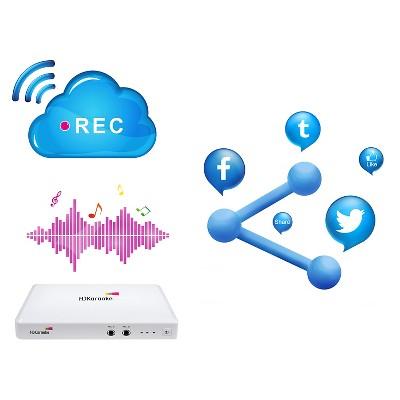 Karaoke Player HDK Box 2.0 Internet w/Mic #karaokeplayer