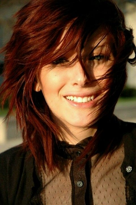 Red Hair Color Hairstyles, Color, and Tips | Auburn hair ...