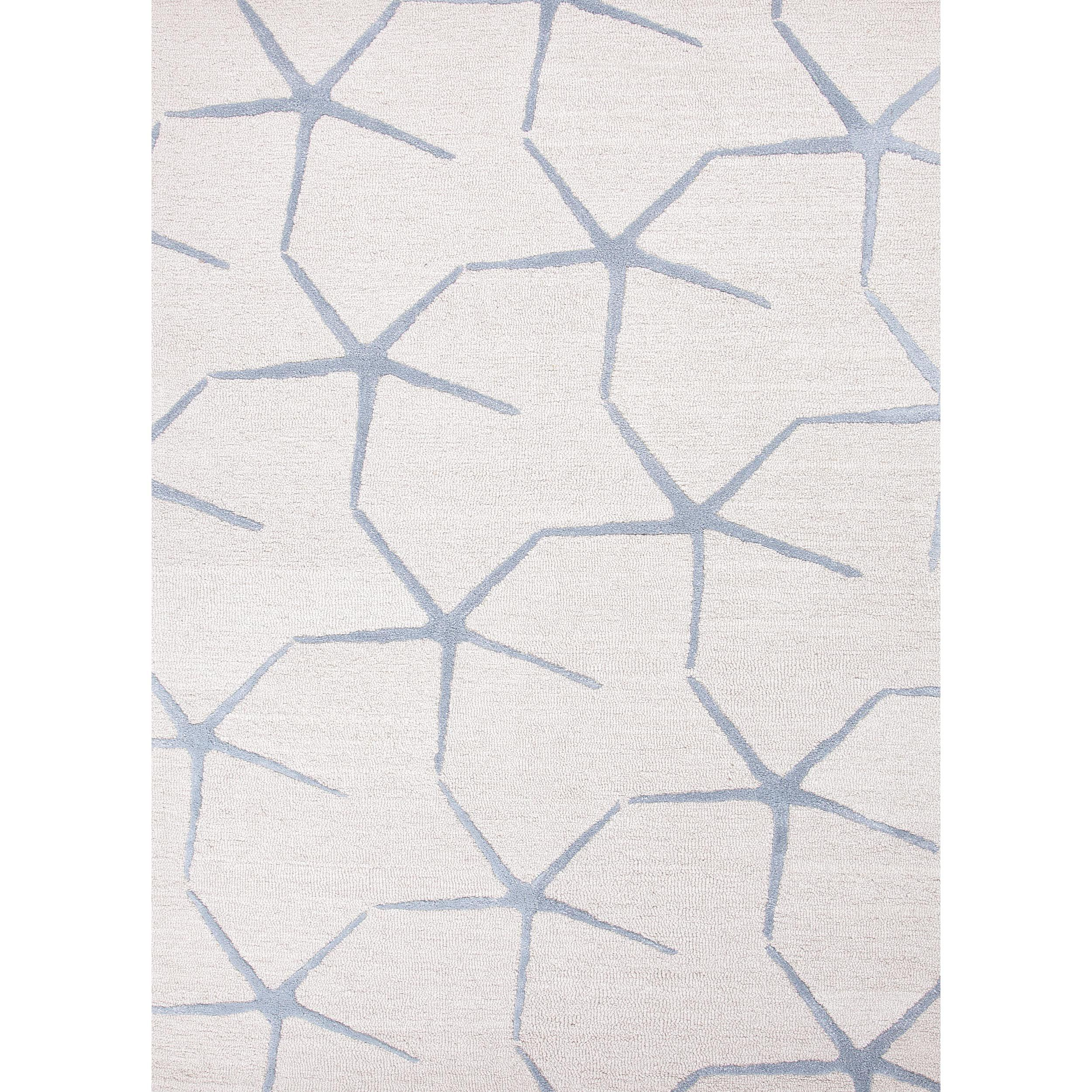 Impressions Transitional Ivory/ White Wool/ Tufted Rug