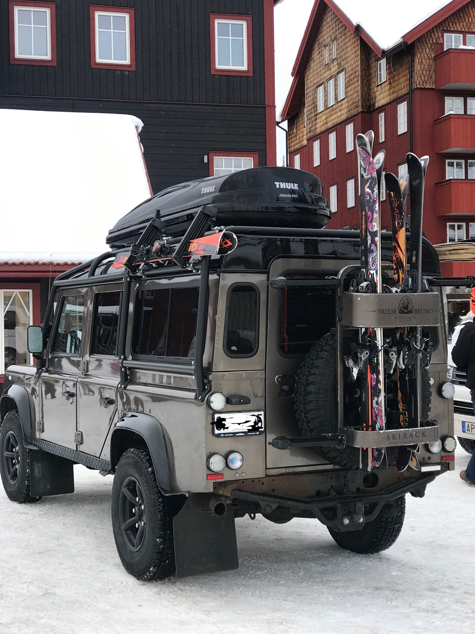 Land Rover Defender Ski Caminhões grandes, Jipes, Jeep